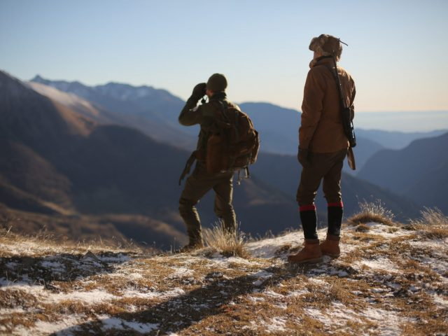 Hunting in the Alps