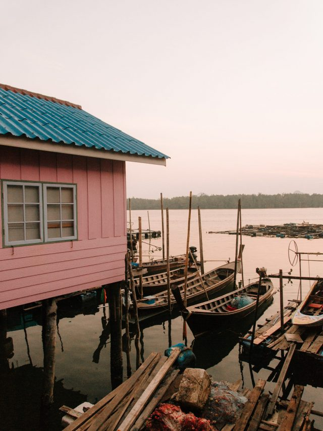 Ko Panyi - Pink house