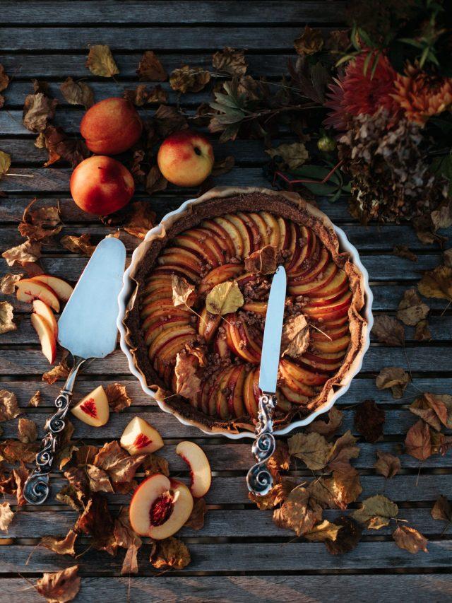Food - Peach pie