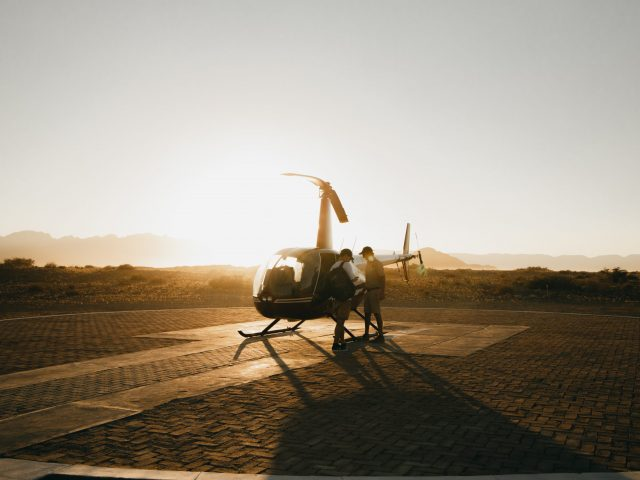Helicopter - Sossusvlei