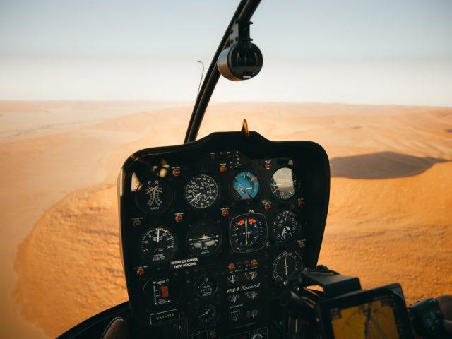 Heli view - Namibia