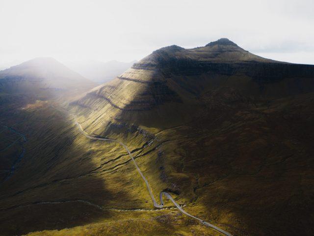 Faroe Islands mountain