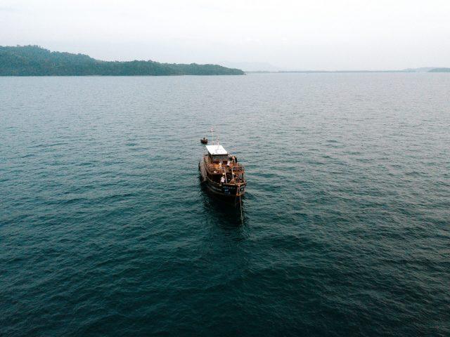 Thailand bay - boat