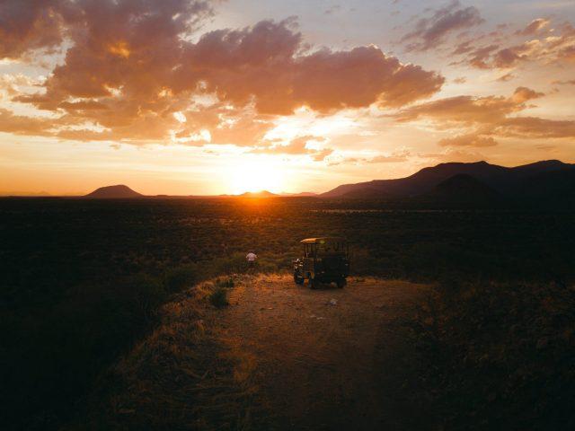 Sunset - Namibia
