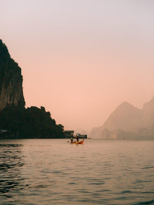 Ko Panyi - sunrise fishermen