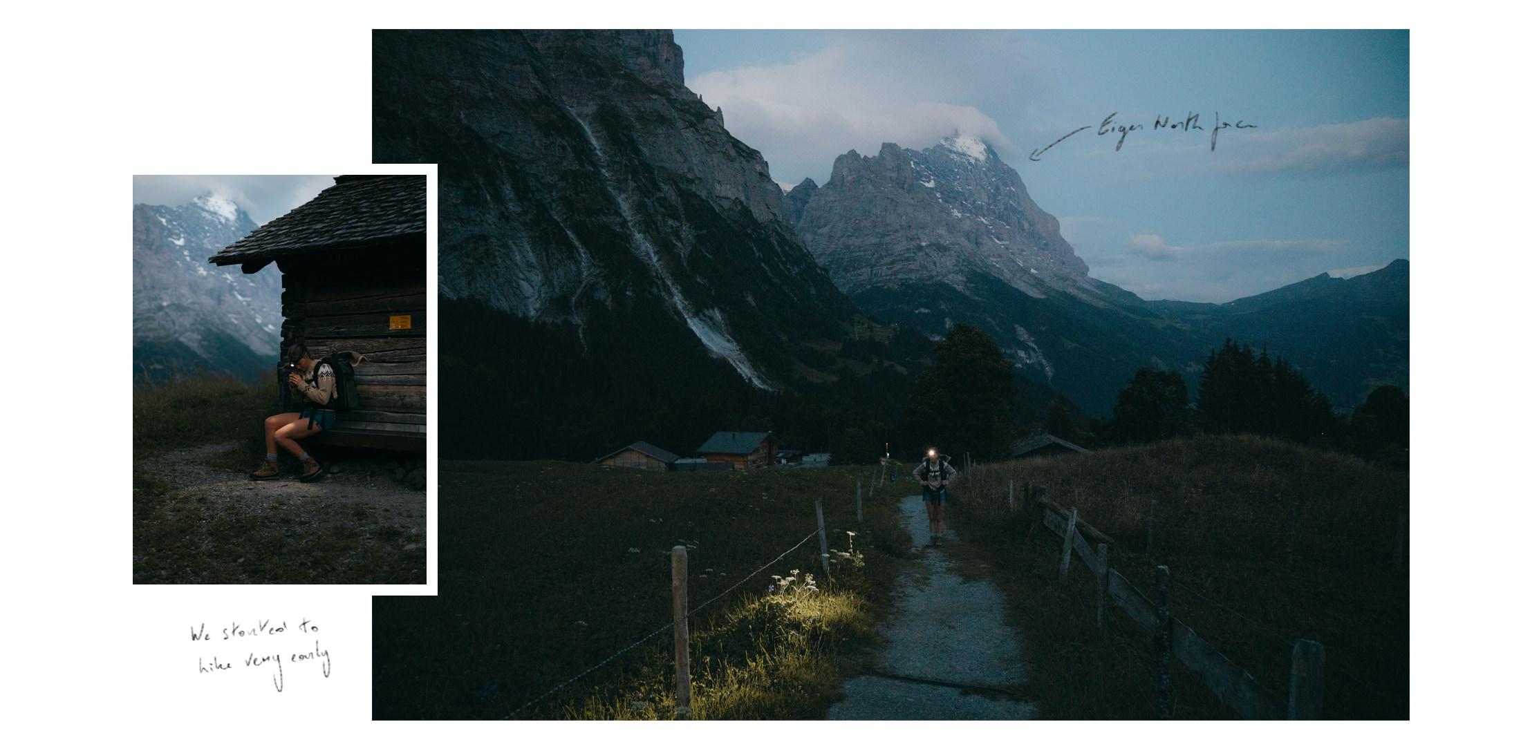 Eiger - dawn