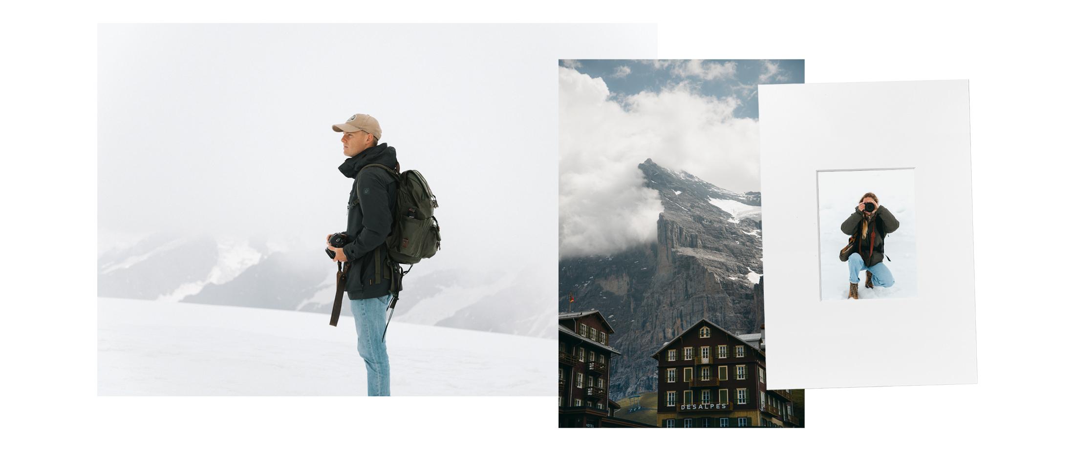 Jungfraujoch portrait