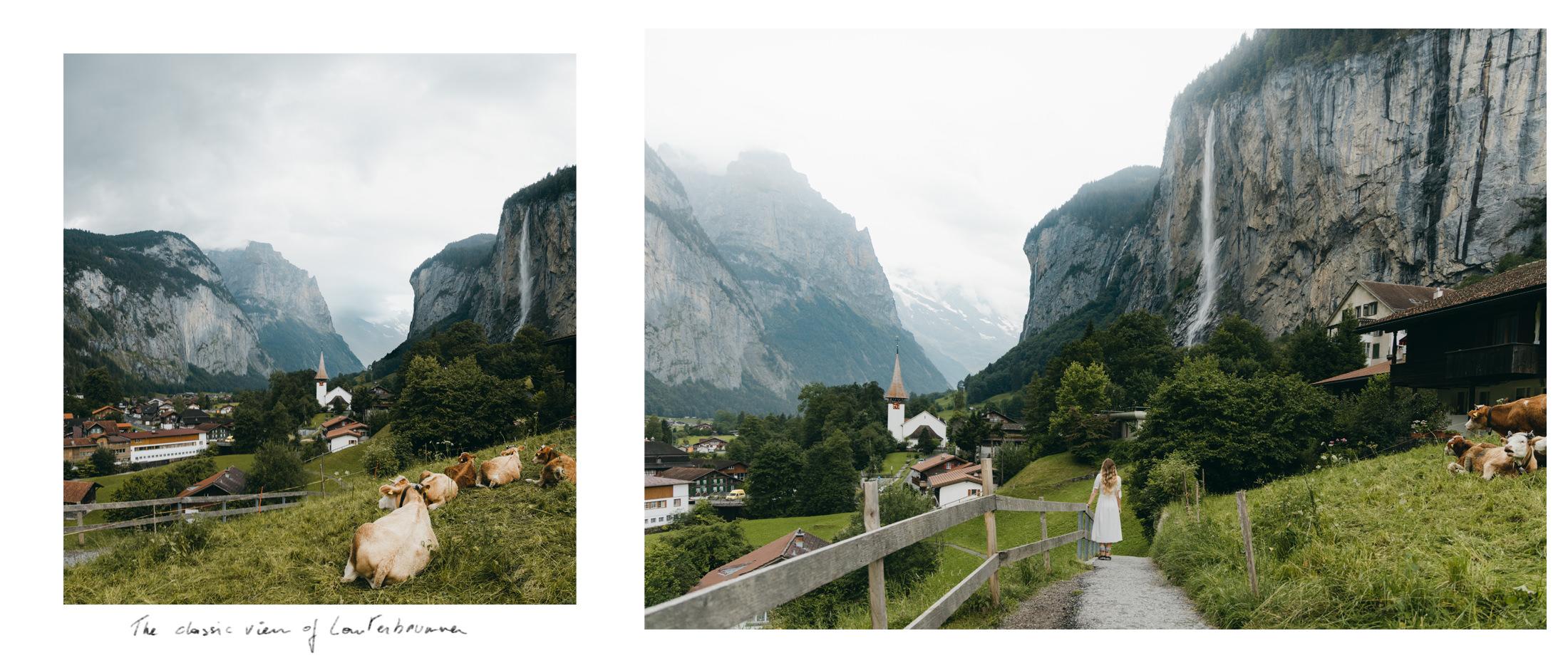 Lauterbrunnen - classical views