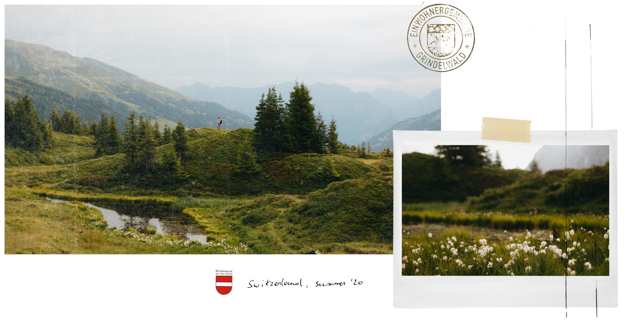 postcard grindelwald