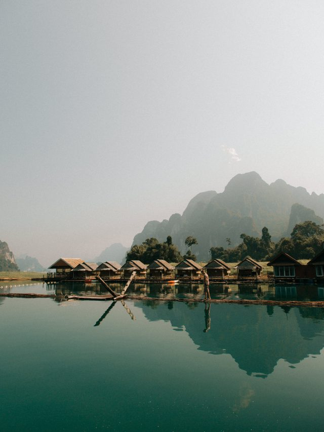 Cheow Lan Lake village