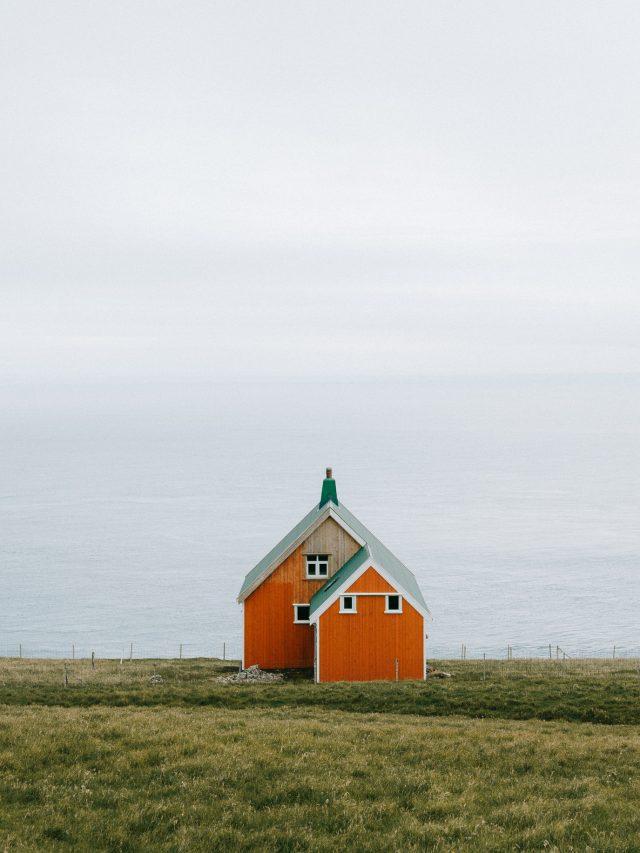 Orange cabin