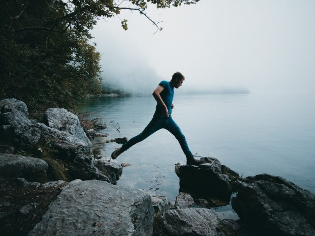 Konigsee - jumping
