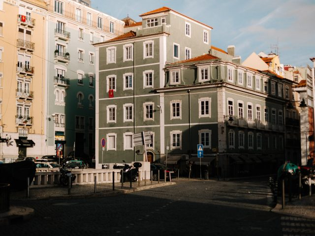 Green house in Lisbon