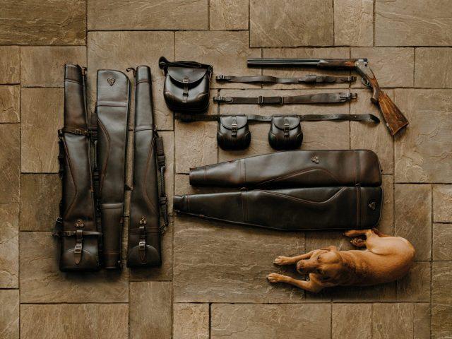 Flatlay hunting gear