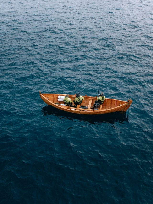Traditional Faroese boat