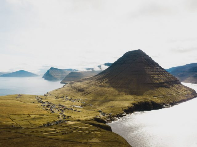 Village in the Faroe Islands