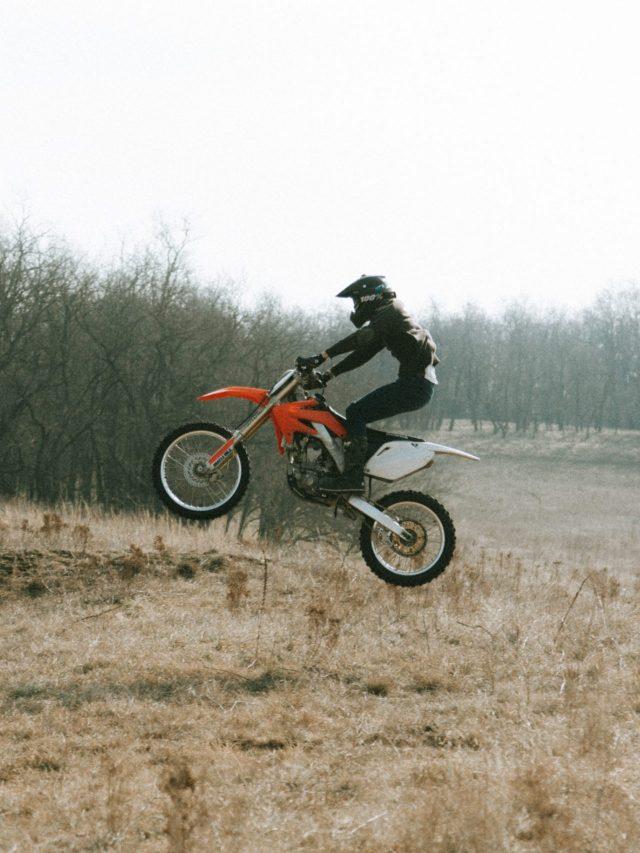 Dirt bike - jump