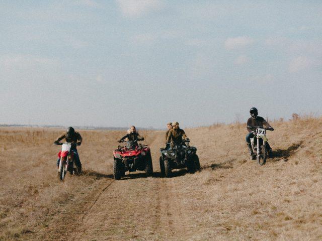 ATV and bikes