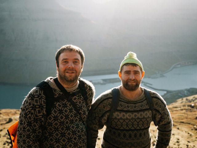 Shepherds from Faroe Islands