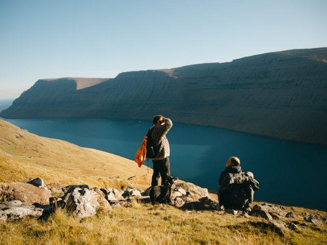 Shepherd on top of the mountain