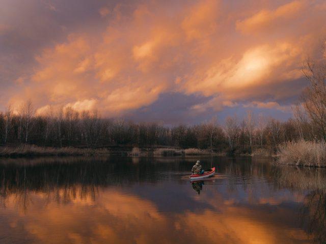 Canoe - Dark sky