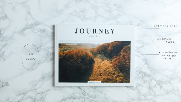 JOURNEY - book by Derek Malou