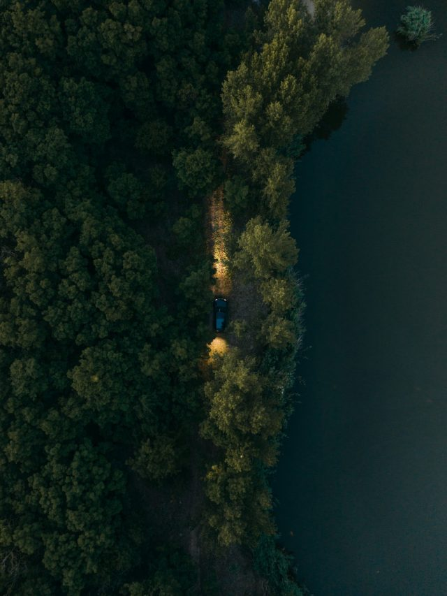 Land Rover from above