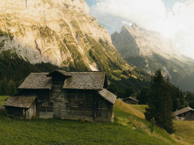 Eiger and Matterhorn
