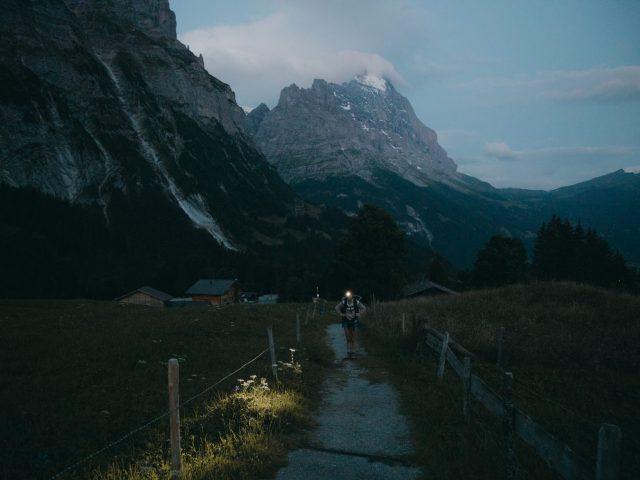 Eiger at dawn