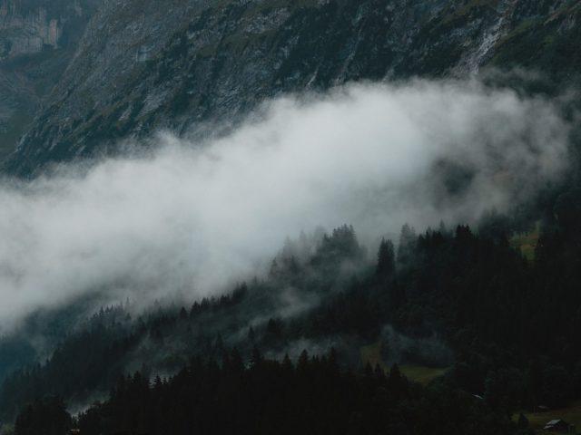 Switzerland - foggy morning