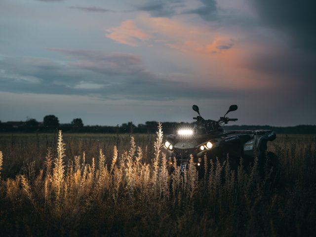 ATV in the dark