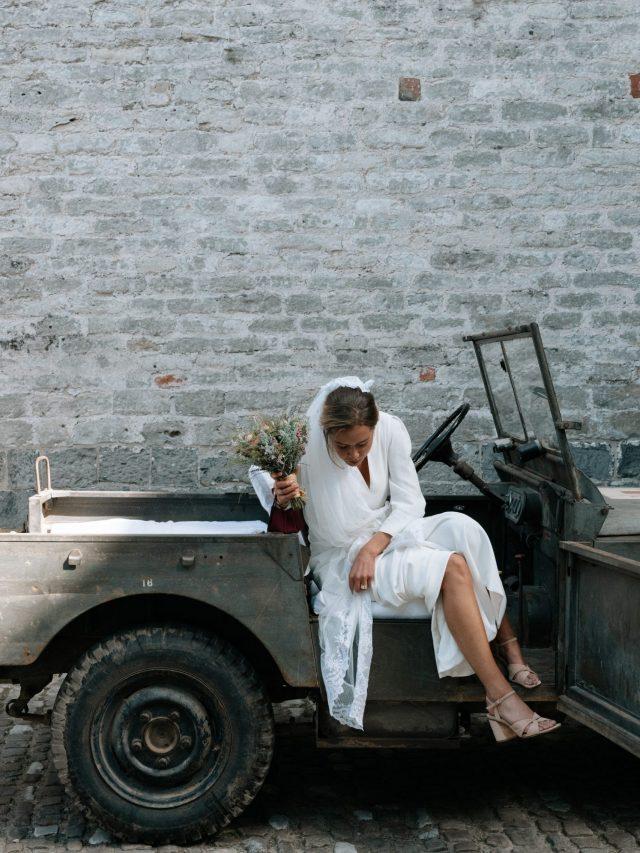 bride + jeep